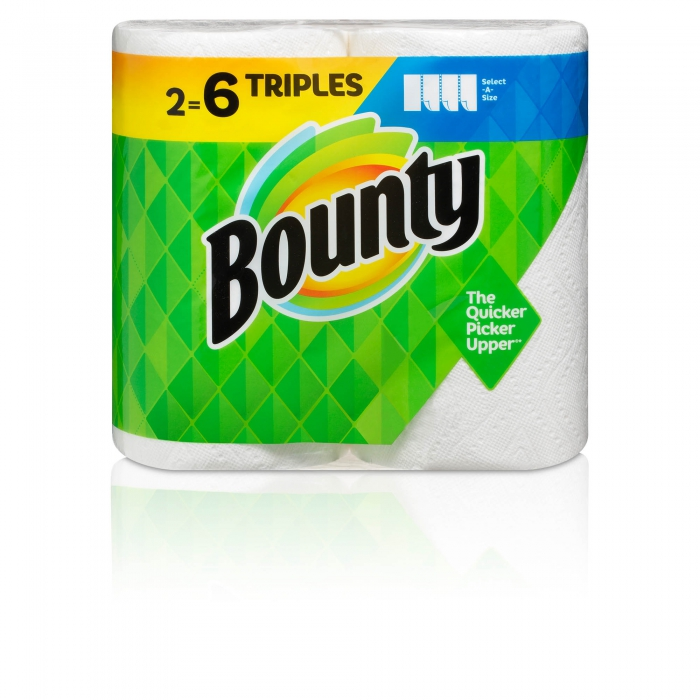 ecommerce product photo bounty paper towels - P&G product photography
