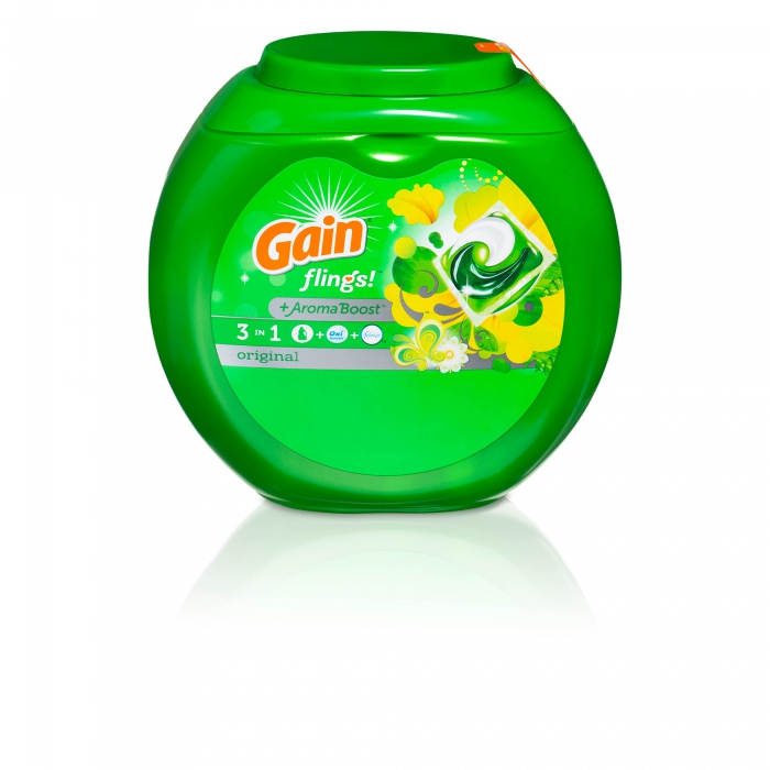 ecommerce product photo of Gain detergent - P&G product photography
