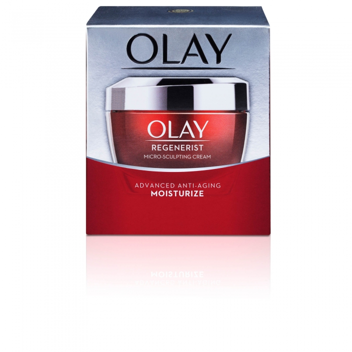 ecommerce product photo Olay whip product - P&G product photography