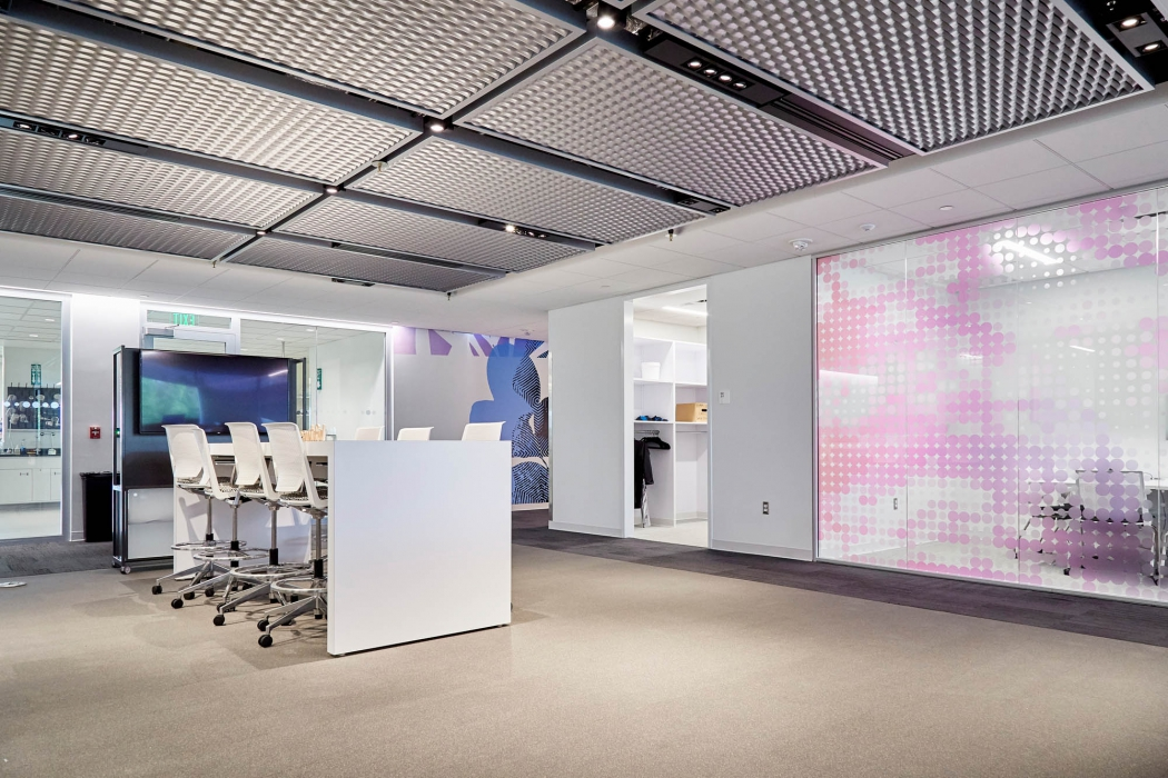 a collaborative workspace at p&g - architectural photography