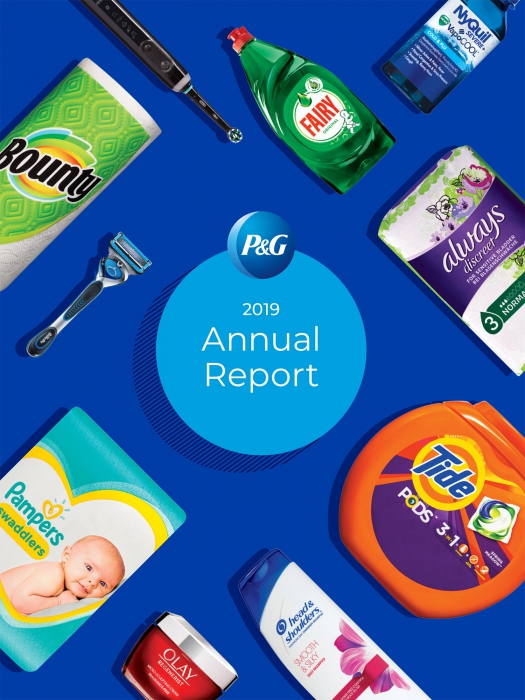 Cover of P&G annual report
