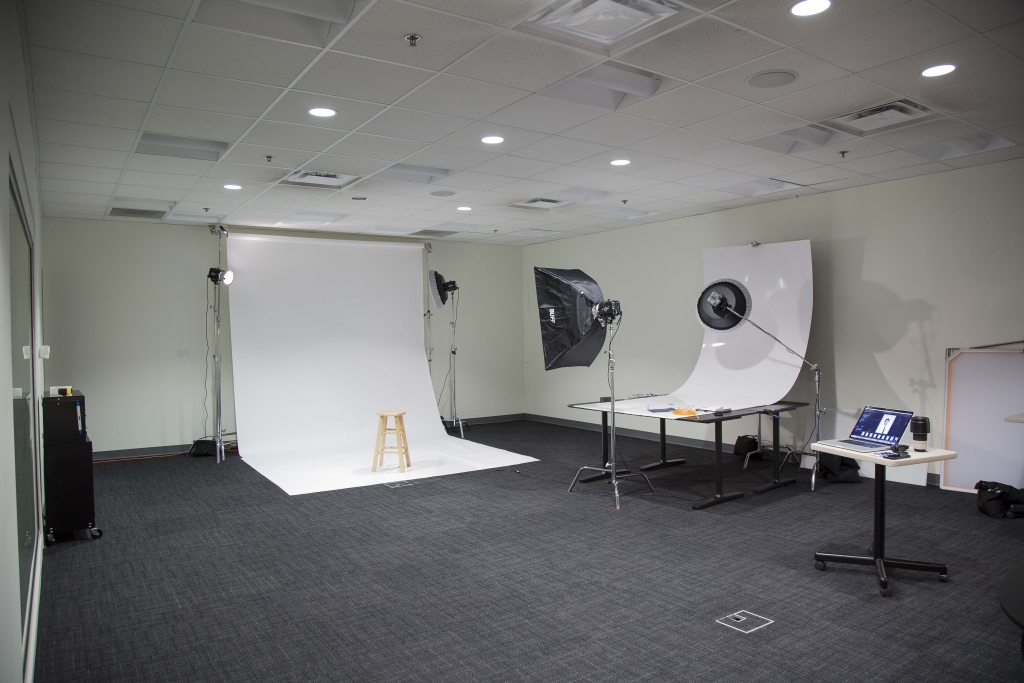 Inside OMS photography studios at MBC