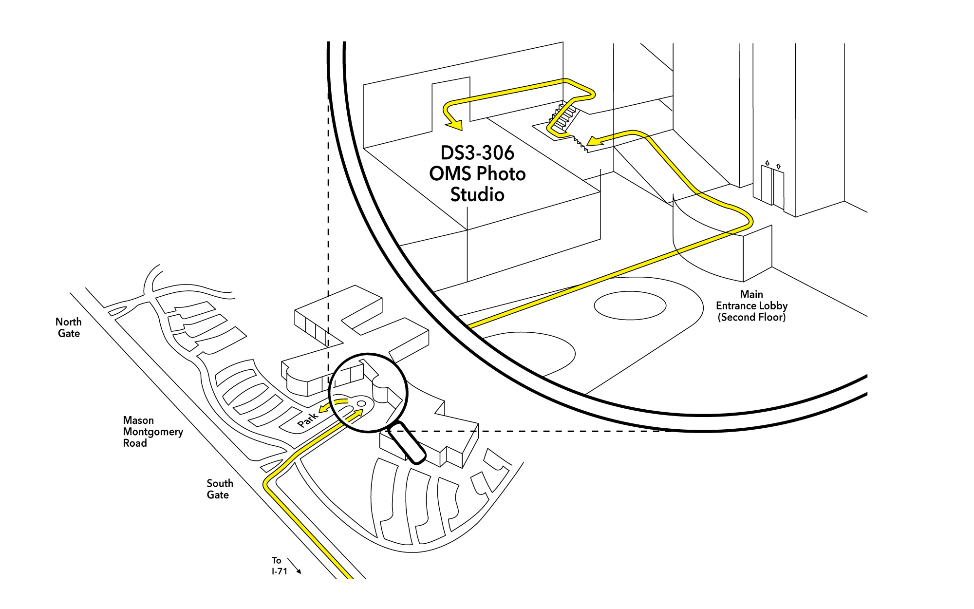 Map to MBC Photo Studio